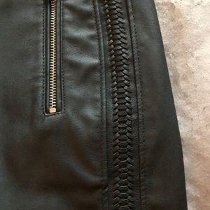 Express Skirts - Black pleather skirt